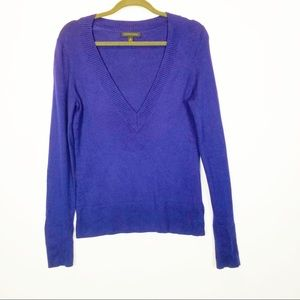 Banana Republic Silk Cashmere Vneck Sweater